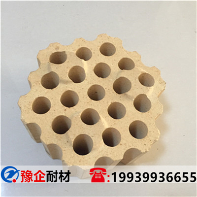 熱風爐用孔磚